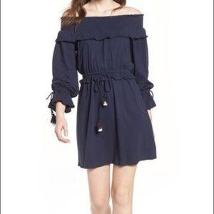 NWT Rebecca Minkoff Isla Off the Shoulder Dress